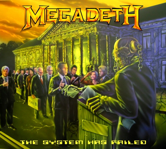 Free download Megadeth The System Has Failed - commggett
